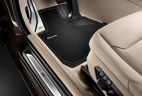BMW 純正 フロアマット F36 4シリーズ グランクーペ 右ハンドル車用 フロアマットセット Textile Luxury