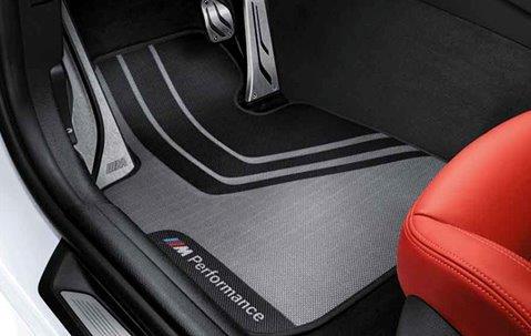 BMW 純正 F30 F31 F80 3シリーズ M Performance フロアマット セット 4枚 左ハンドル用 パフォーマンス マット