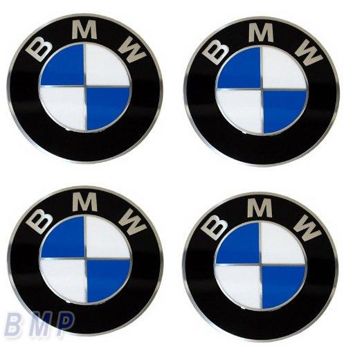 BMW プレゼント 純正 無料 専門店 カスタム パーツ アクセサリー エンブレム 車用品 ホィールキャップ 70mm バッジ 4枚セット