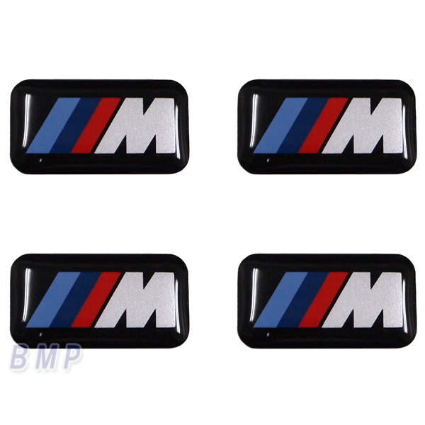 BMW 純正 専門店 カスタム パーツ アクセサリー エンブレム 車用品 Mシール お歳暮 プラスチック 4枚セット 新作からSALEアイテム等お得な商品満載