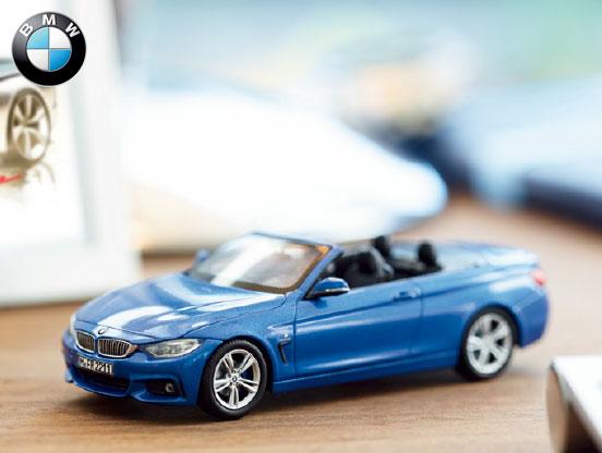 BMW miniature car BMW F33 4 series cabriolet 1 / 43 model car
