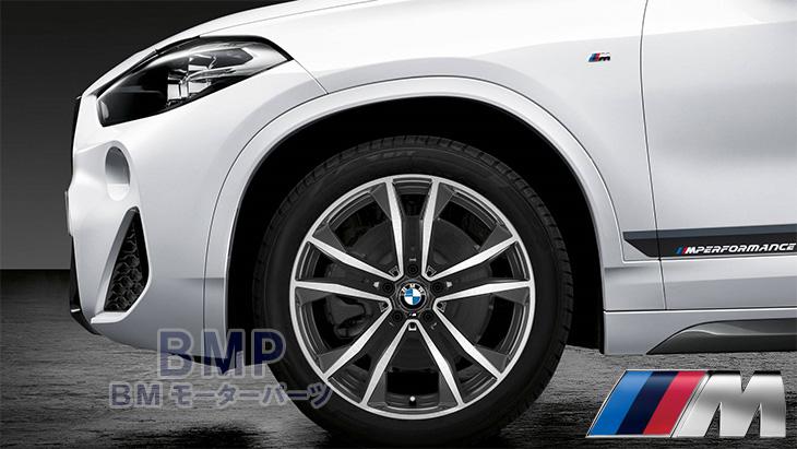 BMW 純正 アルミホイール F39 X2 Mライト アロイ ホイール Yスポーク スタイリング715M 単体 1本 フロント リヤ共通 8J×19