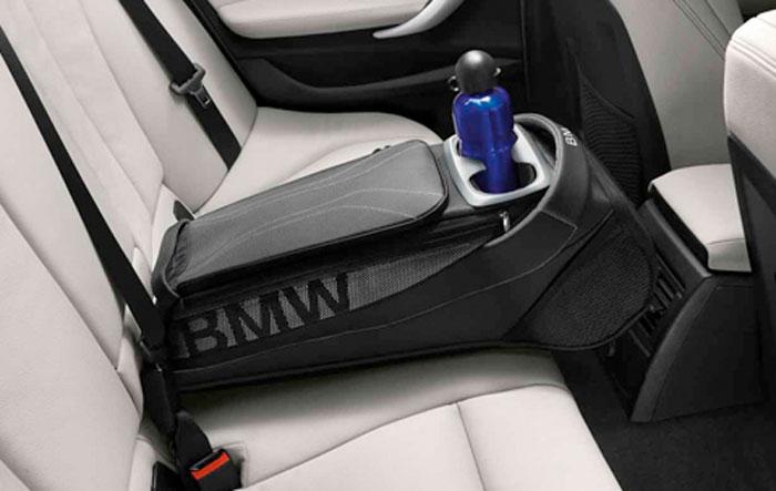 BMW 純正 専門店 カスタム パーツ アクセサリー 車用品 ライトグレイ リヤストレージ バッグ ブラック インテリア 爆買い新作 Style アイテム勢ぞろい