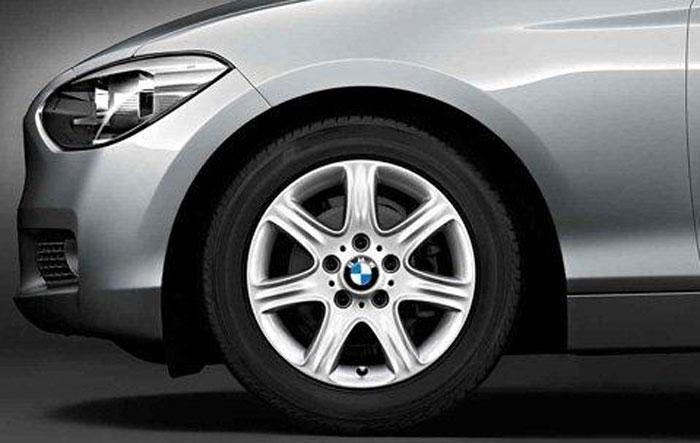 【店内全品100円オフクーポン】BMW 純正 アロイ ホイール 1シリーズ F20 スタースポーク スタイリング377 フロント リヤ 7J×16 単体 1本