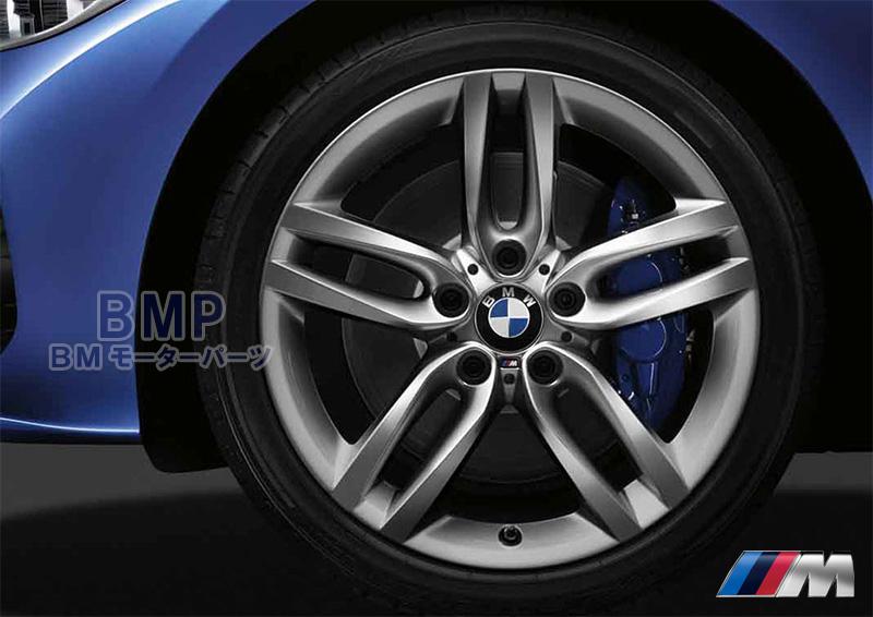 BMW 純正アロイホイール BMW F20 F22 M ライト・アロイ・ホイール・ダブルスポーク・スタイリング461M フェリックグレー フロント 単体 7.5J×18