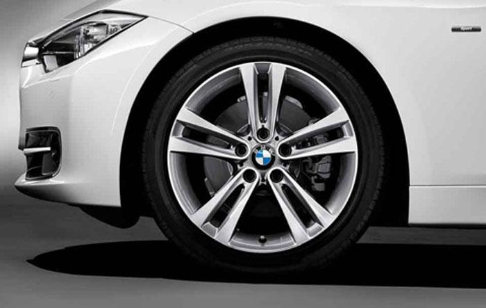 BMW 순정 아로이・휠 BMW 3 시리즈 BMW F30 F31 더블즈 포크・스타일링 397 프런트/리어 8 J×18