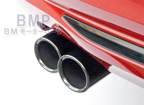 【BMW純正パーツアクセサリー専門店】『どこよりも速く』がモットー! BMW マフラー 【BMW純正】BMW F22 F30 F31 F32 F36 Mスポーツ shadow line テールパイプ・トリム ブラッククローム 2本セット マフラーカッター 228i 328i 428i