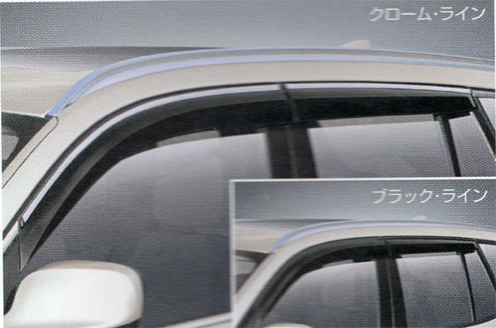 【BMW純正】BMW ドアバイザー BMW F25 X3 ドアバイザー・ブラックライン