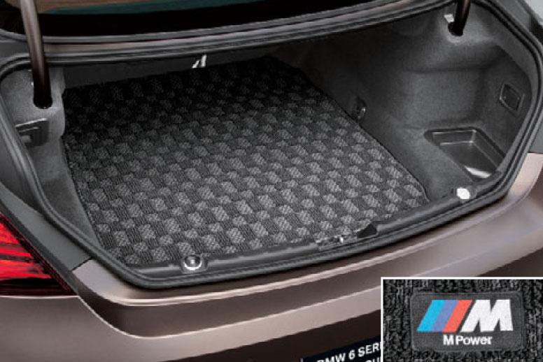 【BMW純正】BMW フロアマット BMW F06 6シリーズ グランクーペ用 M ラゲージルーム・マット