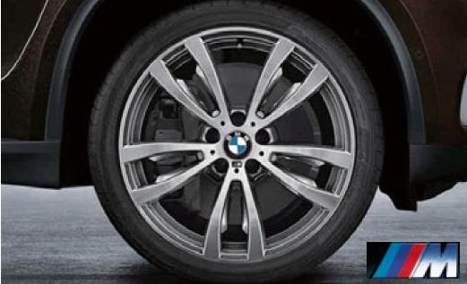 BMW F15/X5 F16/X6 Mライト・アロイ・ホイール・ダブルスポーク・スタイリング469M フロントホイール 単体 10J×20