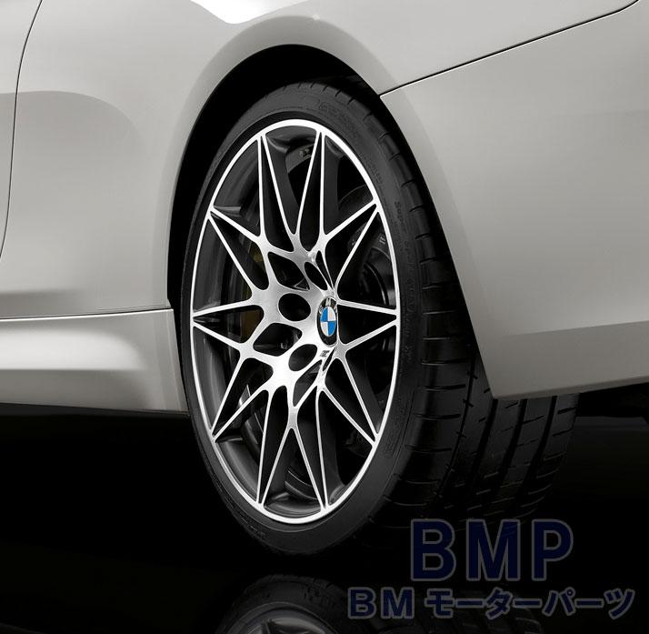 BMW F80 M3 F82 M4 コンペティション ホイール M スタースポーク 666 シルバー 10JX20 ET40 リヤ用 単品 鍛造
