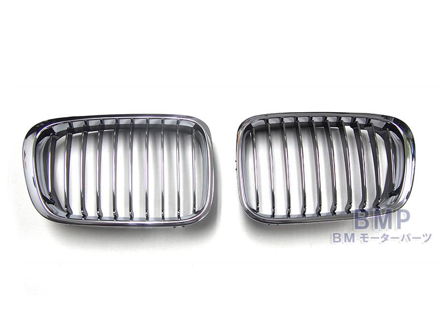 BMW グリル BMW E46 セダン/ツーリング/コンパクト 前期(~2001/9) クロームグリルセット