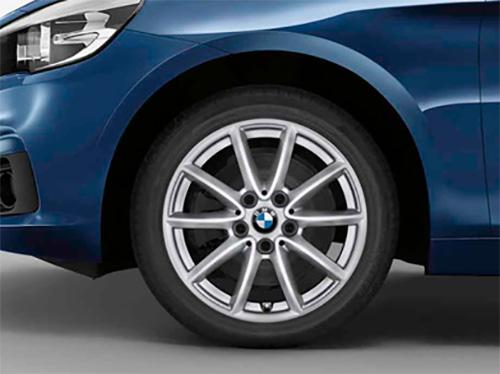 BMW 純正アルミホイール BMW F45/F46 2シリーズ アクティブツアラー/グランツアラー 単体 7J×16(フロント/リヤ共通)