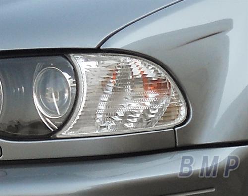 【BMW純正】BMW E46 クーペ/カブリオレ 前期用 フロント・ホワイト・フラッシャー・ランプ 左右セット