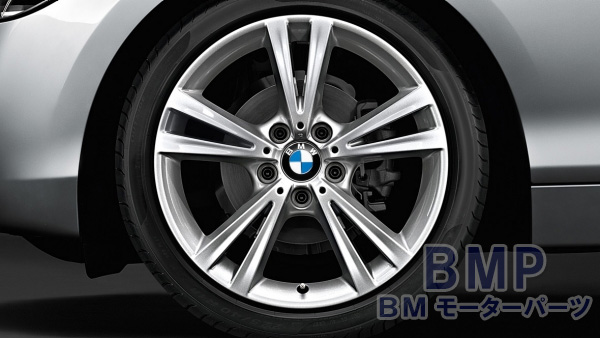 BMW 純正 純正 アルミホイール F48 X1 ダブルスポーク スタイリング 385 リフレックス シルバー 単体 1本 7.5J×17 フロント リヤ共通