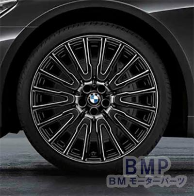 BMW マーケット 純正 専門店 カスタム パーツ アクセサリー 車用品 アルミホイール G11 G12 ブラック 1本 スタイリング マルチスポーク 永遠の定番 リア用 単体 10J×21 629 リキッド 7シリーズ
