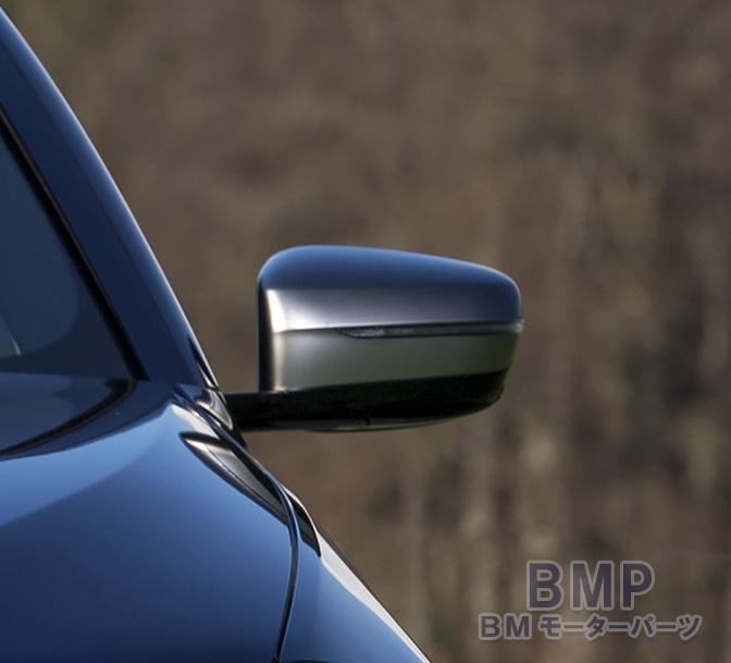 【BMW純正】BMW G30 G31 5シリーズ M550iX 左ハンドル用 ミラーカバー セット マット クローム CERIUM GREY
