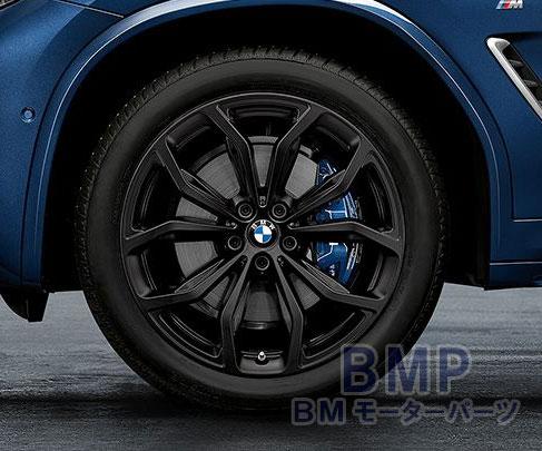 【BMW純正】BMW G01 X3/G02 X4 Yスポーク・スタイリング695(ブラック) 単体 1本 リヤ用 9.5J×20