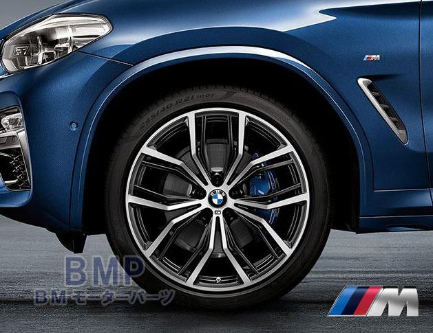 【BMW純正】BMW G01 X3/G02 X4 M Performance Yスポーク・スタイリング701M 単体 1本 フロント用 8.5J×21