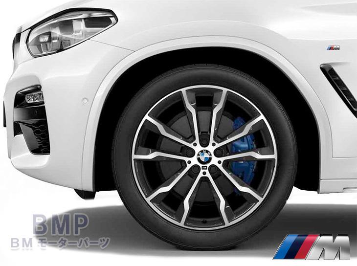 【BMW純正】BMW G01 X3/BMW G02 X4 M ライト・アロイ・ホイール・ダブルスポーク・スタイリング699 バイ・カラー 単体 1本 フロント用 8J×20