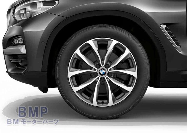 BMW 純正 G01 X3 G02 X4 Vスポーク ホイール スタイリング692 単体 1本 フロント リヤ共通 7.5J×19