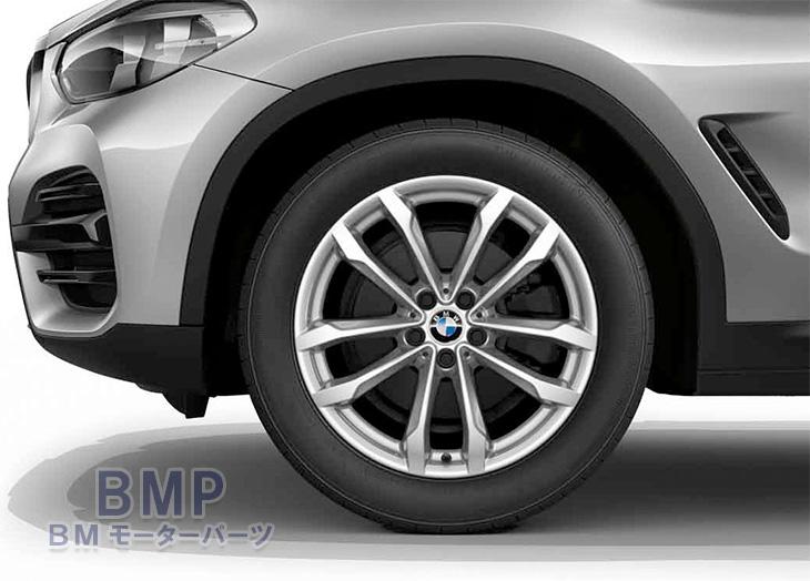 【BMW純正】BMW G01 X3/G02 X4 Vスポーク・スタイリング691 単体 1本 フロント・リヤ共通 7.5J×19