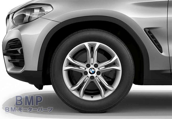 【BMW純正】BMW G01 X3/G02 X4 ダブルスポーク・スタイリング688 単体 1本 フロント・リヤ共通 7J×18