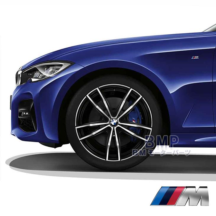 BMW 純正 純正 G20 ライト アロイ ホイール スタースポーク スタイリング791M バイ カラー ジェット ブラック 単体 1本 フロント用 8J×19