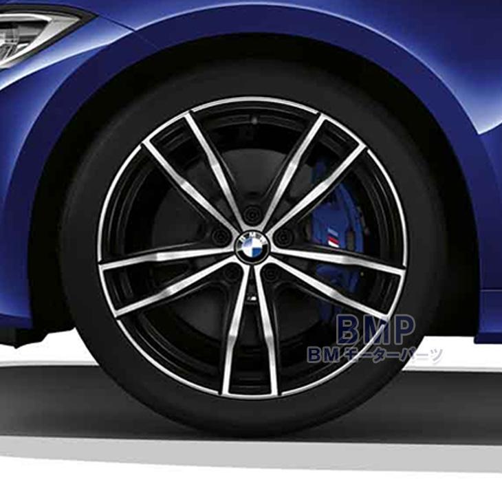 【BMW純正】BMW G20 純正 ライト・アロイ・ホイール スタースポーク・スタイリング791M バイ・カラー(ジェット・ブラック) 単体 1本 リア用 8.5J×19