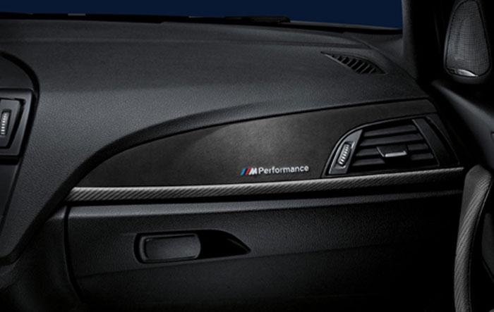【BMW純正】BMW F20 1シリーズ 後期 BMW M Performance カーボン・インテリア・トリム・セット 2017年7月以降