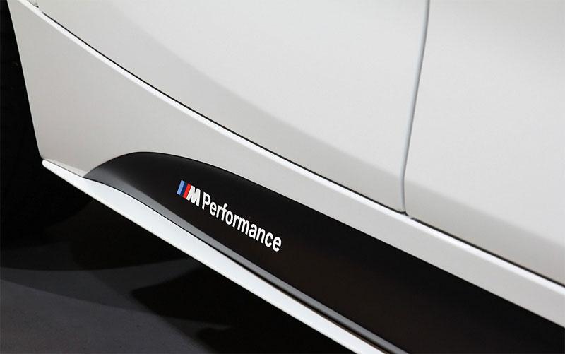 【BMW純正】BMW F20 1シリーズ BMW M Performance サイド・スカート・フィルム