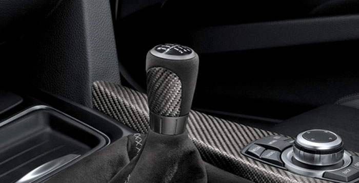BMW 純正 F30 F31 F34 3シリーズ M Performance MT用 カーボン アルカンタラ シフト ノブ 左ハンドル用 パフォーマンス