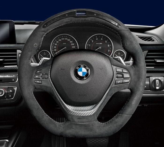 BMW 純正 F30 F31 F34 F32 F33 3シリーズ M Performance スポーツ ステアリング ホイール2 ディスプレイ付 スポーツAT車用 パフォーマンス
