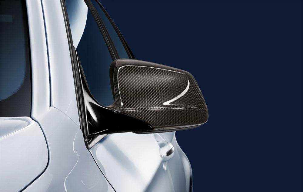 【BMW純正】BMW F10/F11 5シリーズ 前期 BMW M Performance カーボン・ミラーカバー フルカバータイプ