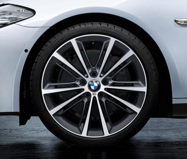 店内全品100円offクーポン BMW 純正 F10 F11 5シリーズ M Performance Vスポーク スタイリング ホイール 464M フェリック グレー 単体 リヤ 9J×20 パフォーマンス 七五三 売れ行きがよい 結婚祝