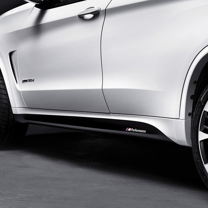 BMW 純正 F16 X6 M Performance サイド スカート フィルム パフォーマンス
