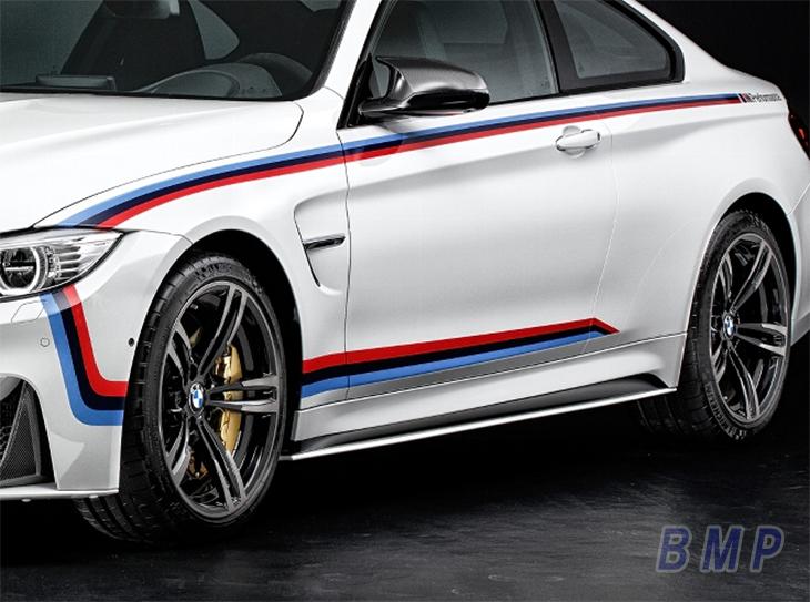 BMW F82 M4用 M Performance モータースポーツ ストライプ パフォーマンス