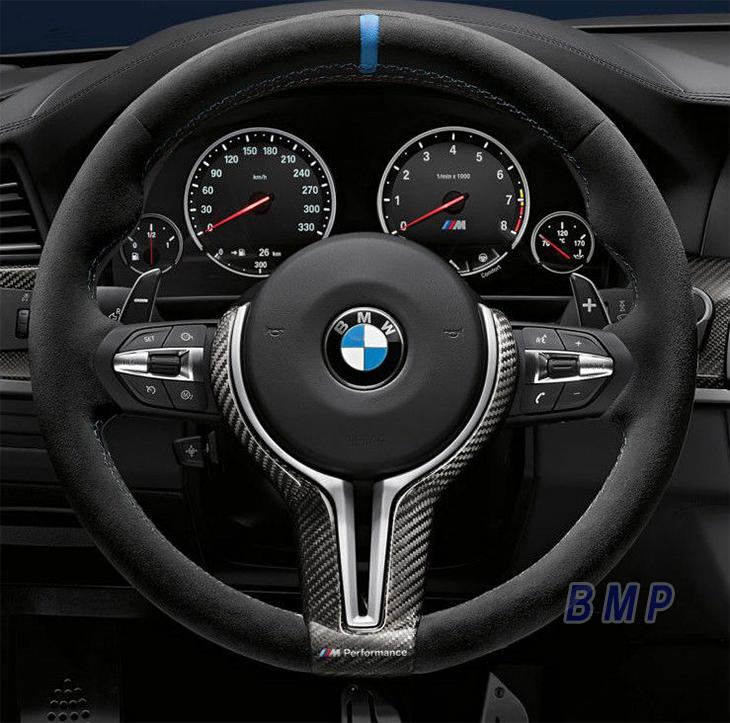 BMW F80/F82/F83 M3/M4用 M Performance カーボン・アルカンタラ・ステアリング