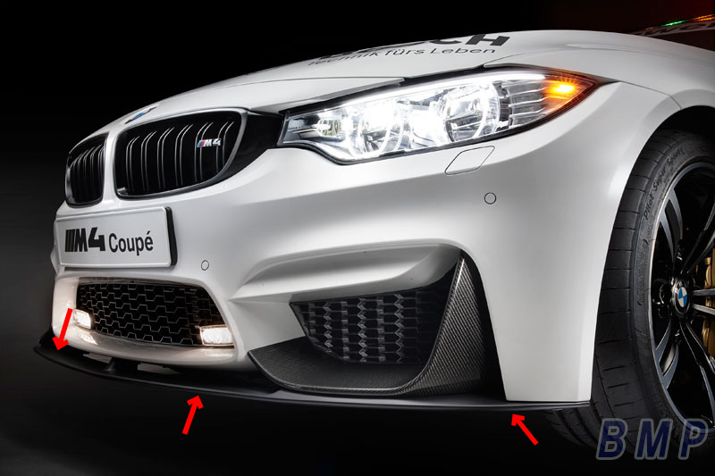 bmp bmw f80 m3 f82 m4 m performance front lip spoiler. Black Bedroom Furniture Sets. Home Design Ideas