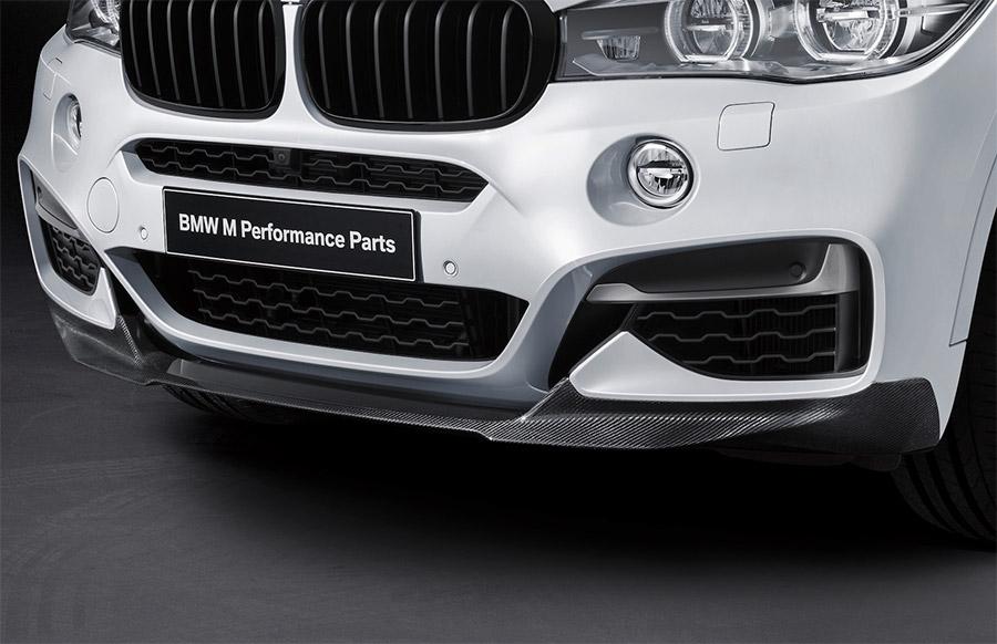 BMW ☆正規品新品未使用品 純正 専門店 カスタム パーツ アクセサリー 車用品 送料無料 F16 パフォーマンス M Performance フロント カーボン スプリッター スポイラー X6