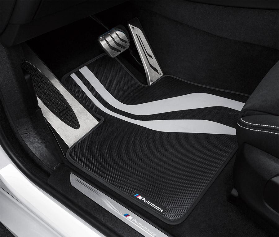 【BMW純正】【送料無料】BMW F16 F86 X6 M Performance フロアマット・セット(4枚) 右ハンドル用