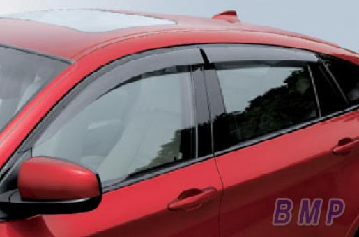 BMW ドアバイザー BMW F26 X4用 ドアバイザー シャドーライン(ハイグロス・シャドー・モール)