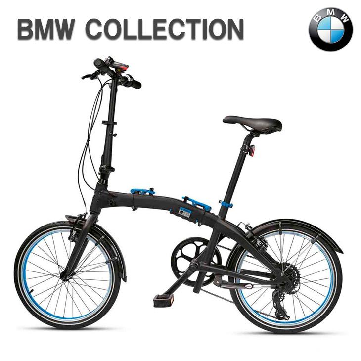 【300円OFFクーポン配布中】BMW 純正 BMW COLLECTION フォールディング バイク ブラック/ブルー 折り畳み 自転車