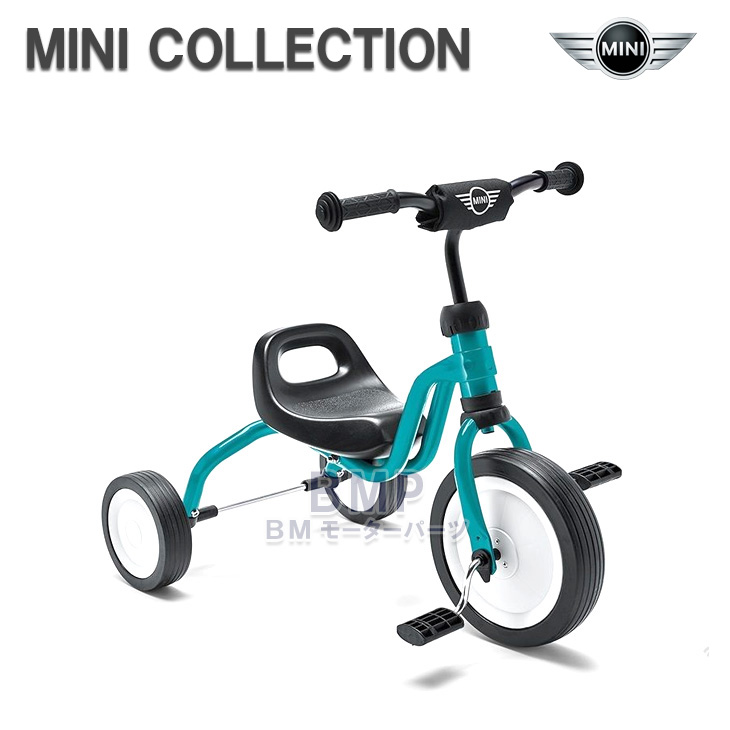 【BMW純正】MINI COLLECTION MINI Tricycle(三輪車) アクア