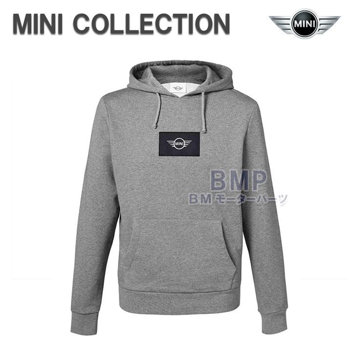 BMW MINI 純正 MINI COLLECTION ロゴ フード ジャケット パーカー グレー メンズ