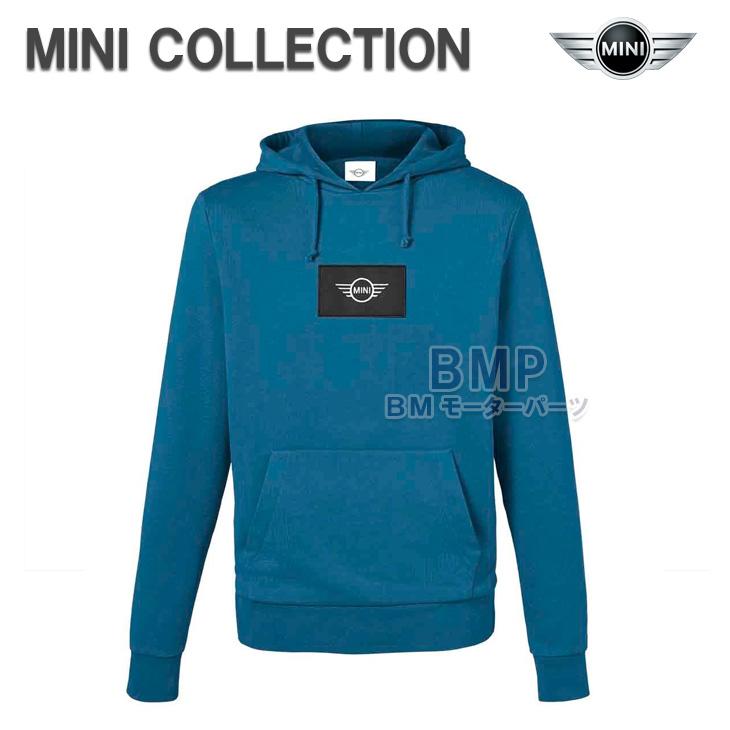 BMW MINI 純正 MINI COLLECTION ロゴ フード ジャケット パーカー アイランドブルー メンズ