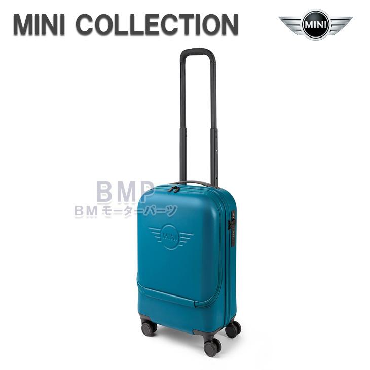 【店内全品200円offクーポン】BMW MINI 純正 MINI COLLECTION キャビントローリー キャリーバッグ アイランドブルー