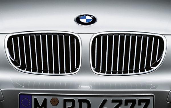 BMW 純正 グリル E87 E82 1シリーズ 後期用 Mスポーツ除く 2007年3月以降 クロームグリルセット