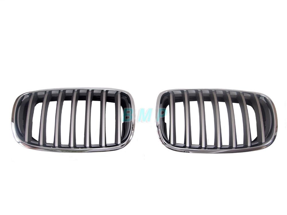 【店内全品100円オフクーポン】BMW グリル E70 X5 チタングリルセット