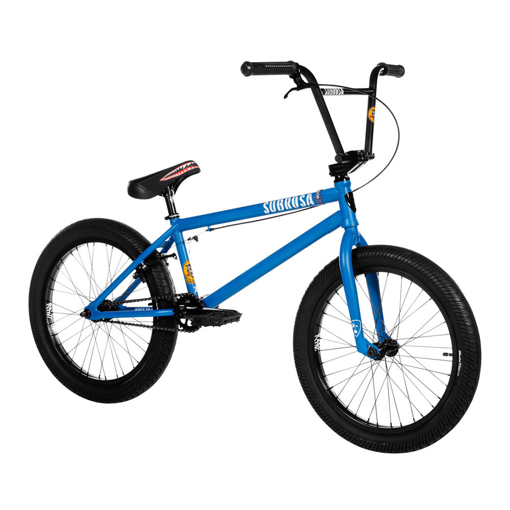"2019 SUBROSA - SALVADOR XL 21.0""/ satin steel blue / サブローザ サルバドールXL BMX 完成車 ストリート 大きめサイズ"
